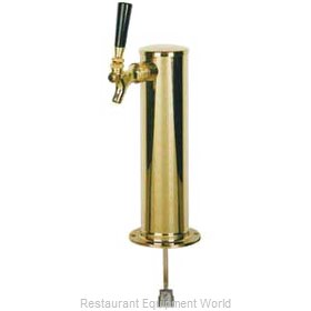 Micro Matic D4743S-PVD Draft Beer Dispensing Tower Head Unit