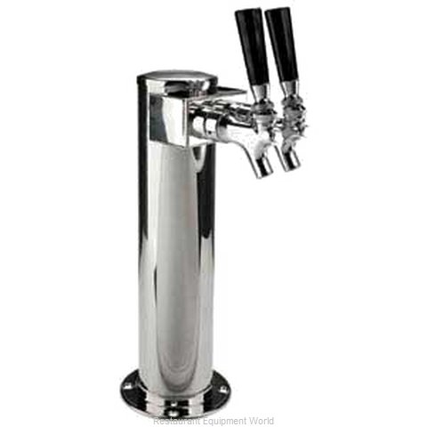 Micro Matic D4743SGPSS Draft Beer Dispensing Tower Head Unit