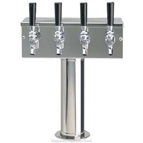 Micro Matic D7744PSS Draft Beer Dispensing Tower (Magnified)