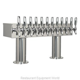 Micro Matic DPT412PSS-3 Draft Beer Dispensing Tower Head Unit