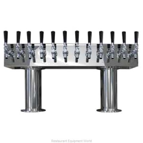 Micro Matic DPT412PSS Draft Beer Dispensing Tower Head Unit