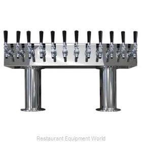 Micro Matic DPT412PSSKR Draft Beer Dispensing Tower Head Unit