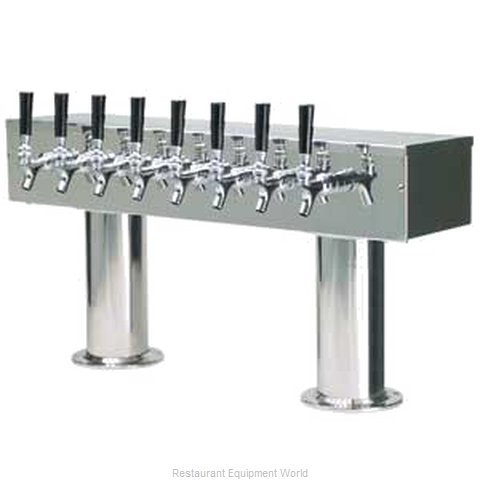 Micro Matic DPT48PSS Draft Beer Dispensing Tower