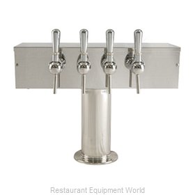 Micro Matic DS-354-PSS-W Draft Wine Dispensing Tower