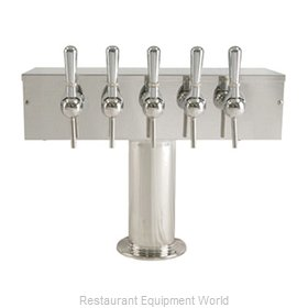 Micro Matic DS-355-PSS-W Draft Wine Dispensing Tower