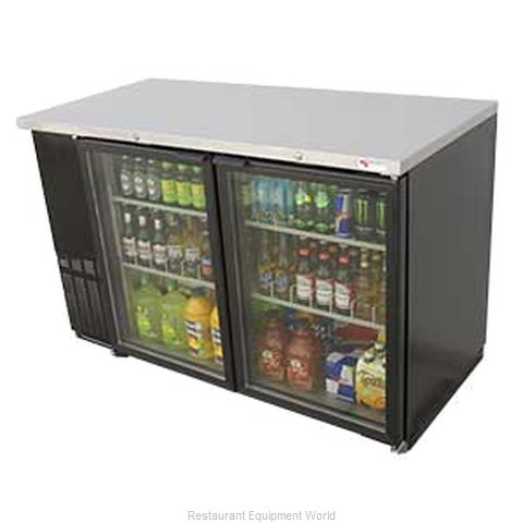 Micro Matic MBB58G Backbar Cabinet Refrigerated