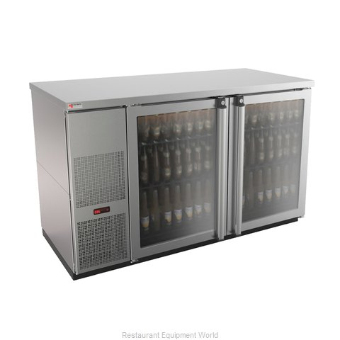 Micro Matic MBB58GS-E Back Bar Cabinet, Refrigerated