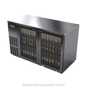 Micro Matic MBB58GS Backbar Cabinet Refrigerated
