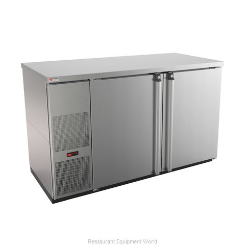 Micro Matic MBB58S-E Back Bar Cabinet, Refrigerated