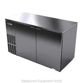 Micro Matic MBB58S Backbar Cabinet Refrigerated