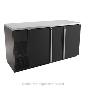 Micro Matic MBB68-E Back Bar Cabinet, Refrigerated