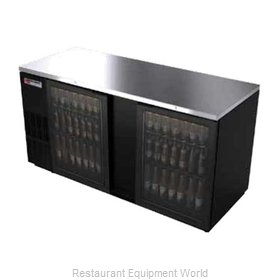 Micro Matic MBB68G Back Bar Cabinet, Refrigerated