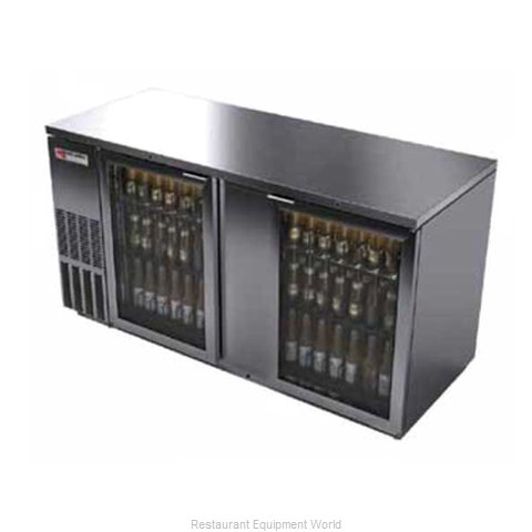 Micro Matic MBB68GS Backbar Cabinet Refrigerated