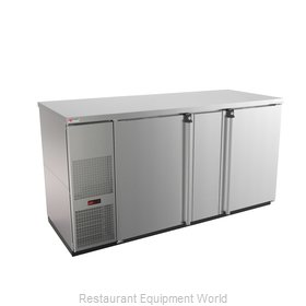 Micro Matic MBB68S-E Back Bar Cabinet, Refrigerated