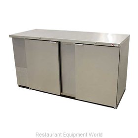 Micro Matic MBB68S Backbar Cabinet Refrigerated