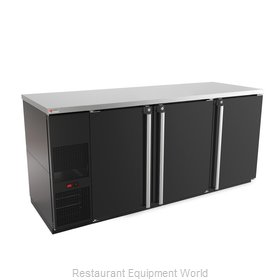 Micro Matic MBB78-E Back Bar Cabinet, Refrigerated
