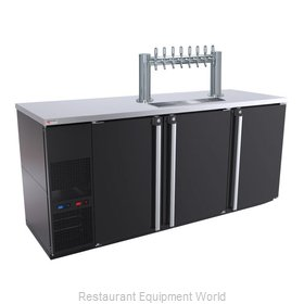 Micro Matic MBB78BC-E-A Draft Beer Cooler