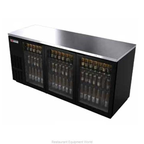 Micro Matic MBB78G Backbar Cabinet Refrigerated