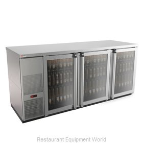 Micro Matic MBB78GS-E Back Bar Cabinet, Refrigerated