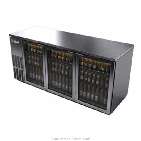 Micro Matic MBB78GS Backbar Cabinet Refrigerated