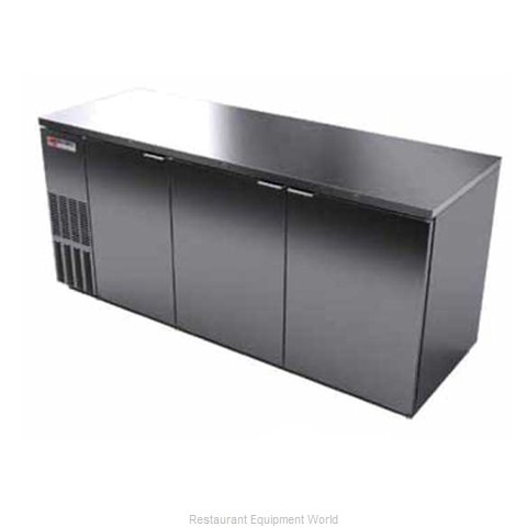 Micro Matic MBB78S Backbar Cabinet Refrigerated