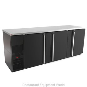Micro Matic MBB94-E Back Bar Cabinet, Refrigerated