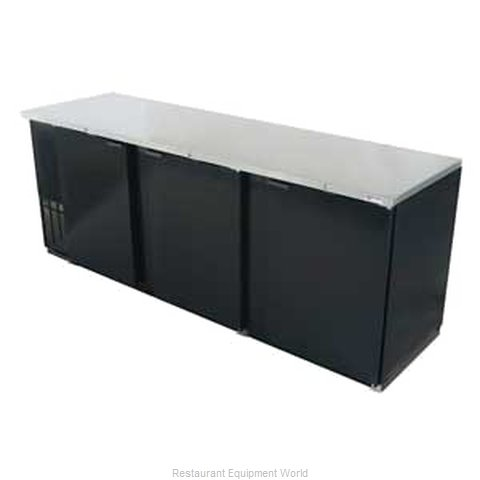 Micro Matic MBB94 Backbar Cabinet Refrigerated (Magnified)