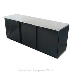 Micro Matic MBB94 Backbar Cabinet Refrigerated