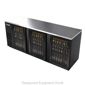 Micro Matic MBB94G Backbar Cabinet Refrigerated
