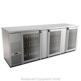 Micro Matic MBB94GS-E Back Bar Cabinet, Refrigerated