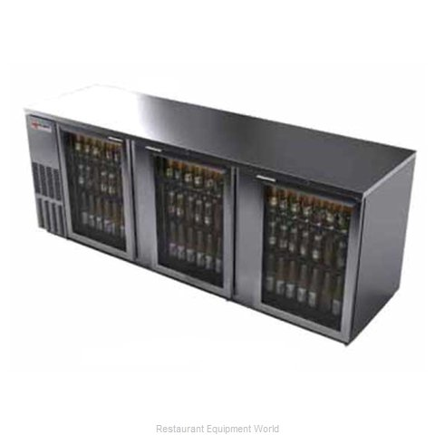 Micro Matic MBB94GS Backbar Cabinet Refrigerated