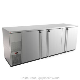 Micro Matic MBB94S-E Back Bar Cabinet, Refrigerated