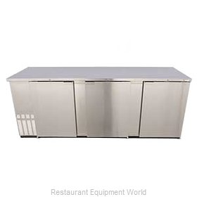 Micro Matic MBB94S Backbar Cabinet Refrigerated