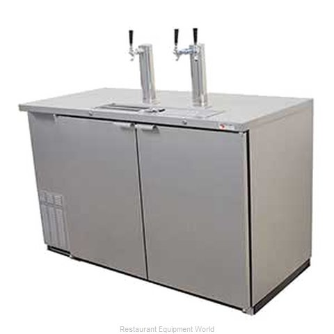 Micro Matic MDD58S Draft Beer Cooler