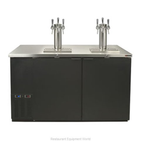Micro Matic MDD58W-B Wine Cooler Dispenser (Magnified)