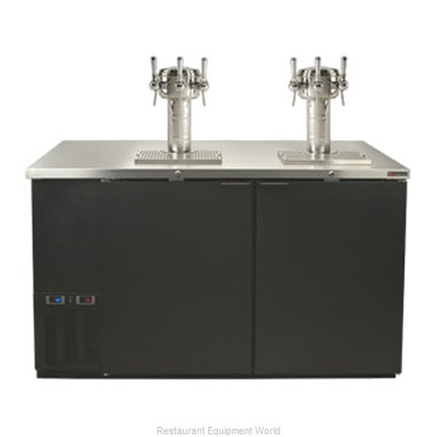Micro Matic MDD58W-D Wine Cooler Dispenser (Magnified)