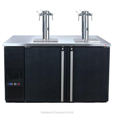 Micro Matic MDD58W-E-B Wine Cooler Dispenser