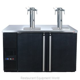 Micro Matic MDD58W-E-B Wine Cooler Dispenser