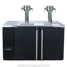 Micro Matic MDD58W-E-D Wine Cooler Dispenser