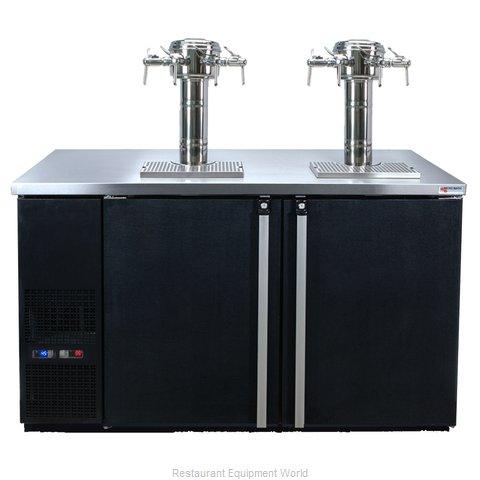 Micro Matic MDD58W-E-E Wine Cooler Dispenser