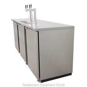 Micro Matic MDD94S Draft Beer Cooler