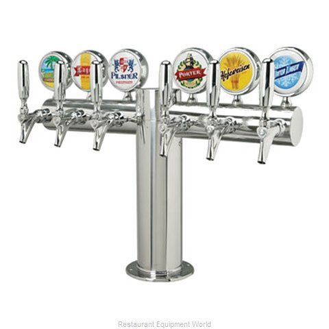Micro Matic METRO-T-6PSSKR-M Draft Beer Dispensing Tower Head Unit