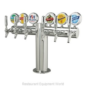 Micro Matic METRO-T-6PSSKR-M Draft Beer / Wine Dispensing Tower