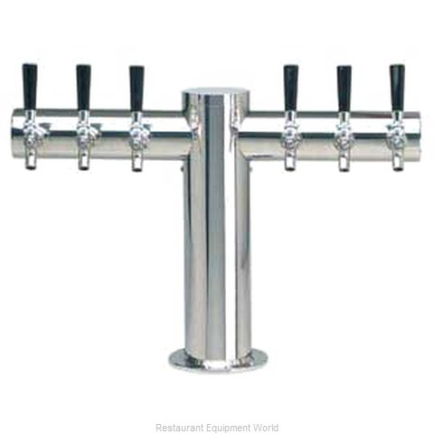 Micro Matic METRO-T-6PSSKR Draft Beer / Wine Dispensing Tower (Magnified)