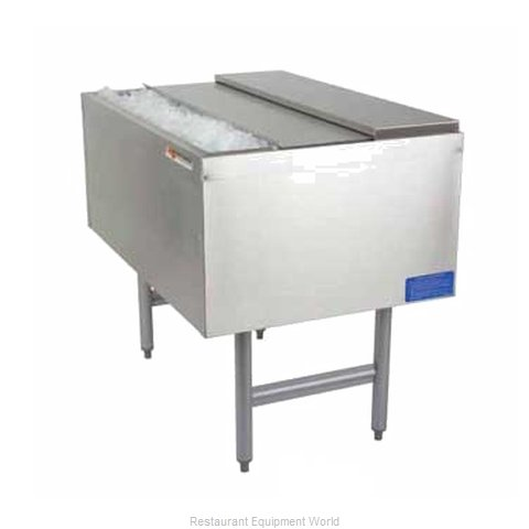 Micro Matic MM-PT36+8 Underbar Ice Bin Cocktail Unit Pass-Thru