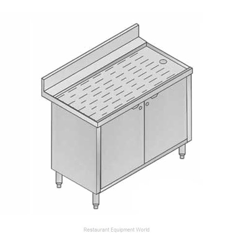 Micro Matic MM-SK-CAB36 Underbar Workboard Storage Cabinet (Magnified)