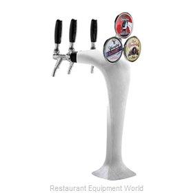 Micro Matic MM1093F-M Draft Beer / Wine Dispensing Tower