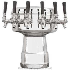 Micro Matic MTB-6PSSKR Draft Beer / Wine Dispensing Tower