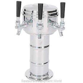 Micro Matic MTM-3PSS Draft Beer Dispensing Tower