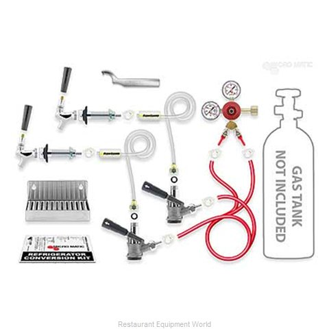 Micro Matic RCK-LC-S-2 Draft Beer Dispenser Kits (Magnified)